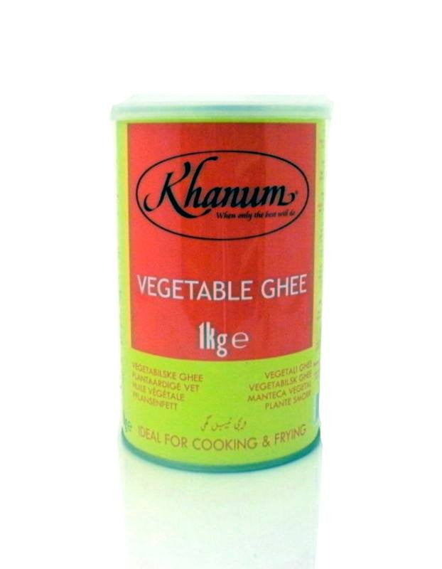 Khanum Vegetable Ghee (Tin) 1 kg - Sabadda - Indian Online Grocery Store in UK