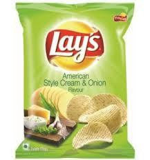 Lays American Style Cream & Onion Flavour 50 gm - Sabadda - Indian Online Grocery Store in UK