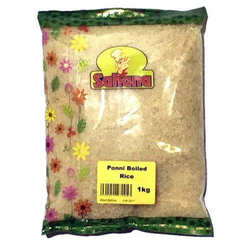 Sahana Ponni Boiled Rice 1 kg - Sabadda - Indian Online Grocery Store in UK