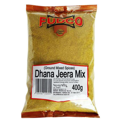 Fudco Dhana Jeera Mix (Ground Mixed Spices) 400 gm - Sabadda - Indian Online Grocery Store in UK
