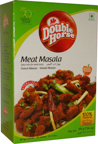 Double Horse Meat Masala 200 gm - Sabadda - Indian Online Grocery Store in UK