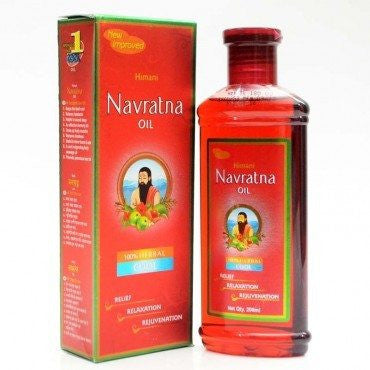 Navrathna Hair Oil 200ml - Sabadda - Indian Online Grocery Store in UK