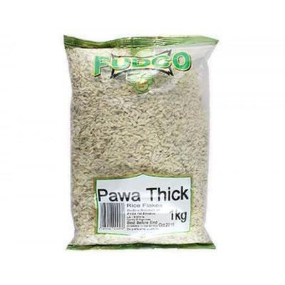 Fudco Pawa Thick (Rice Flakes) 1 kg - Sabadda - Indian Online Grocery Store in UK