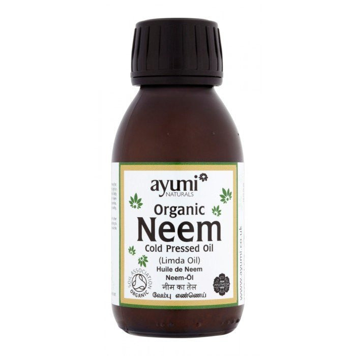 Ayumi Naturals Organic Neem Cold Pressed Oil 100 ml - Sabadda - Indian Online Grocery Store in UK