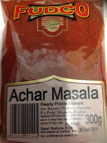 Fudco Achar Masala (Ready Pickle Masala) 300 gm - Sabadda - Indian Online Grocery Store in UK