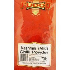 Fudco Kashmiri Mild Chilli Powder 700 GM - Sabadda - Indian Online Grocery Store in UK
