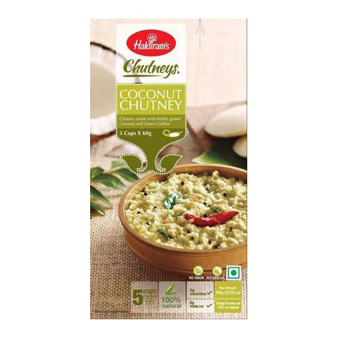 Haldiram's Coconut Chutney 300 gm - Sabadda - Indian Online Grocery Store in UK