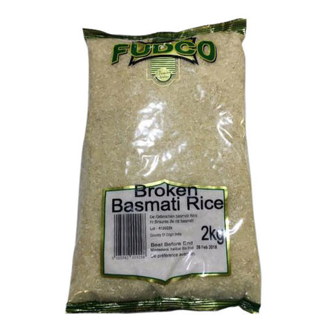 Fudco Broken Basmati Rice 2 kg - Sabadda - Indian Online Grocery Store in UK