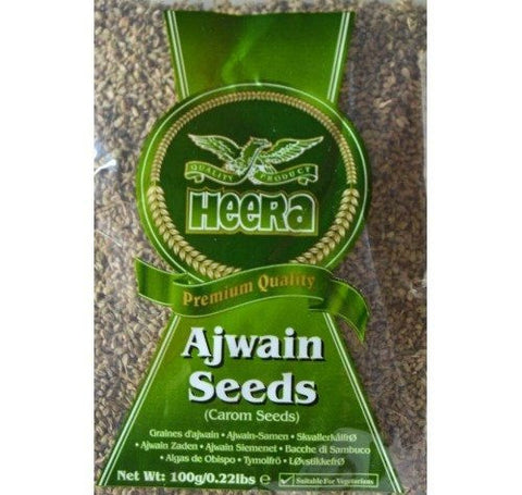 Heera Ajwain Seeds 100gm Default Title - Sabadda - Indian Online Grocery Store in UK