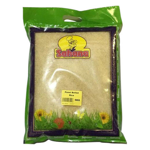 Sahana Ponni Boiled Rice 5 kg - Sabadda - Indian Online Grocery Store in UK