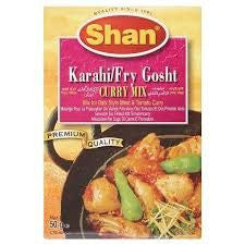 Shan Karahi Fry Gosht Curry Mix 50 gm - Sabadda - Indian Online Grocery Store in UK