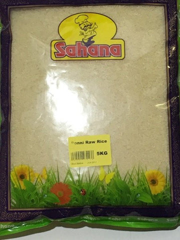 Sahana Ponni Raw Rice 5 KG - Sabadda - Indian Online Grocery Store in UK