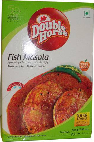 Double Horse Fish Masala 200 gm - Sabadda - Indian Online Grocery Store in UK