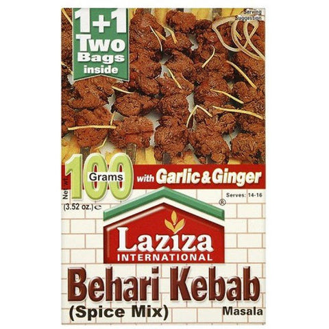 Laziza Bihari Kabab 100gm - Sabadda - Indian Online Grocery Store in UK