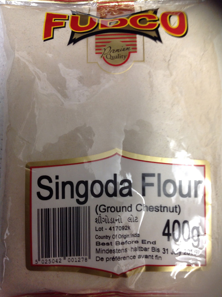 Fudco Singoda Flour (Ground Chestnut) 400 gm - Sabadda - Indian Online Grocery Store in UK