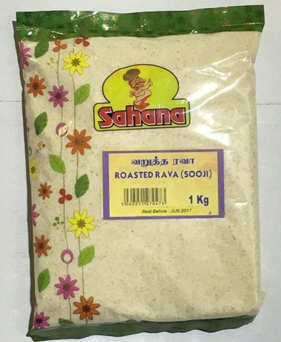 Sahana Roasted Rava (Sooji) 1 kg - Sabadda - Indian Online Grocery Store in UK