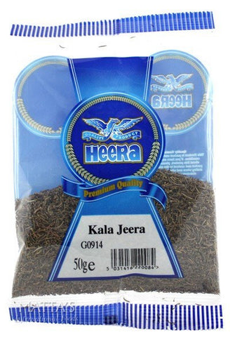 Heera Kala Jeera 50 gm - Sabadda - Indian Online Grocery Store in UK