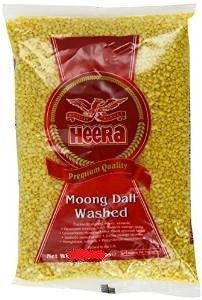Heera Moong Dal Washed 2kg - Sabadda - Indian Online Grocery Store in UK