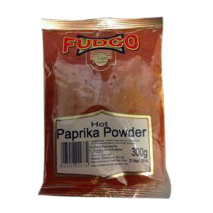 Fudco Hot Paprika Powder 300 gm - Sabadda - Indian Online Grocery Store in UK