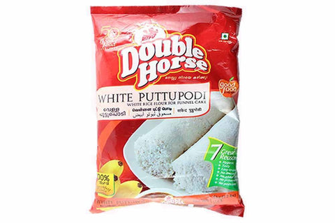 Double Horse White Pittu Podi 1 KG - Sabadda - Indian Online Grocery Store in UK