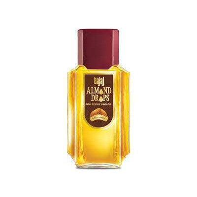 Bajaj Almond Drops Non Sticky Hair Oil 200 ml Default Title - Sabadda - Indian Online Grocery Store in UK