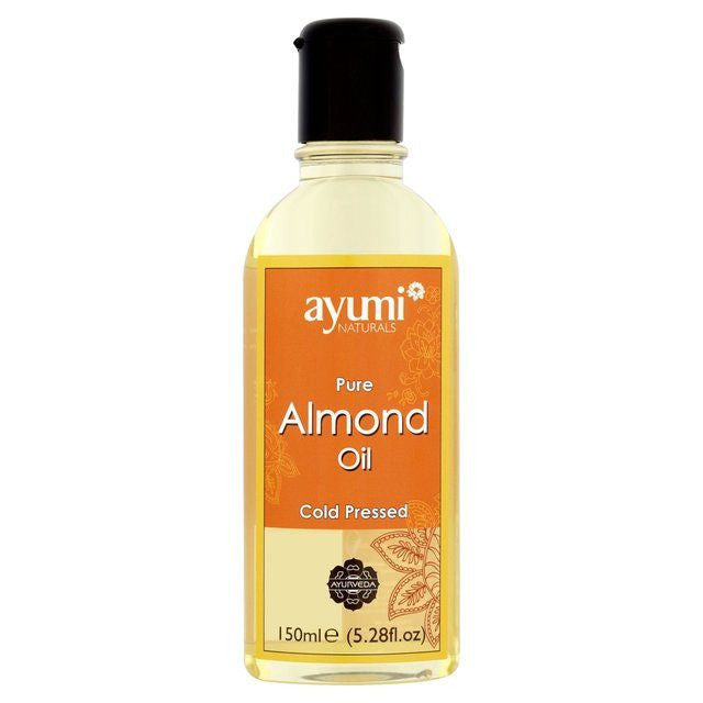 Ayumi Naturals Pure Almond Oil 150 ml - Sabadda - Indian Online Grocery Store in UK