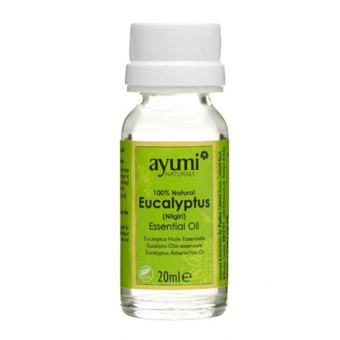 Ayumi Naturals Natural Eucalyptus Essential Oil 60 ml - Sabadda - Indian Online Grocery Store in UK