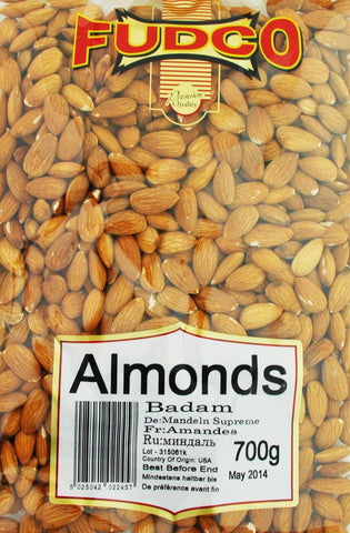 Fudco Almonds 700 gm - Sabadda - Indian Online Grocery Store in UK