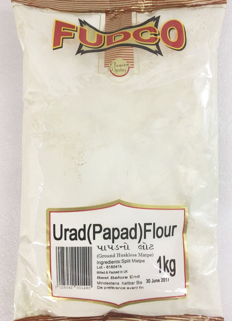 Fudco Urad Flour Papad 1 kg - Sabadda - Indian Online Grocery Store in UK