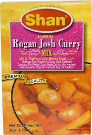 Shan Kashmiri Rogan Josh Curry Mix 50 GM - Sabadda - Indian Online Grocery Store in UK