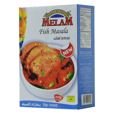 Melam Fish Masala 200 gm - Sabadda - Indian Online Grocery Store in UK