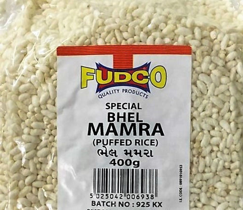 Fudco Special Bhel Mamra Puffed Rice 400 GM - Sabadda - Indian Online Grocery Store in UK