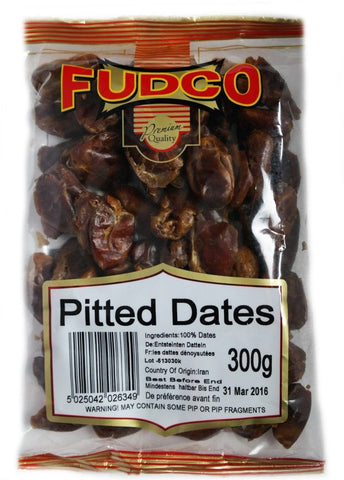 Fudco Pitted Dates 300 GM - Sabadda - Indian Online Grocery Store in UK