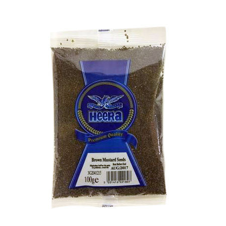 Heera Brown Mustard Seeds 100 gm - Sabadda - Indian Online Grocery Store in UK