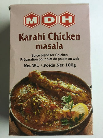 MDH Karahi Chicken Masala 100 gm - Sabadda - Indian Online Grocery Store in UK