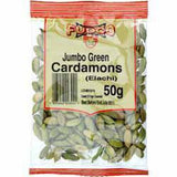 Fudco Jumbo Green Cardamons (Elachi) 50 gm - Sabadda - Indian Online Grocery Store in UK