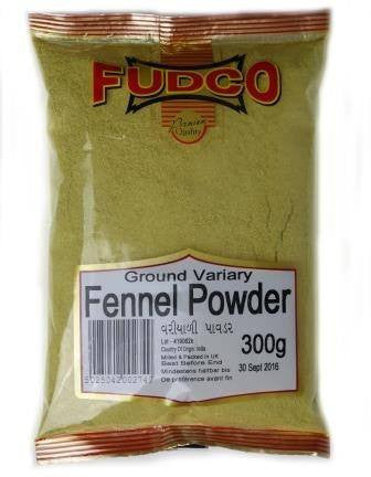 Fudco Ground Variary Fennel Powder 300 gm - Sabadda - Indian Online Grocery Store in UK