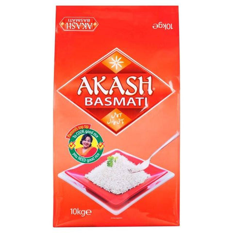 Akash Basmati Rice 10 kg Default Title - Sabadda - Indian Online Grocery Store in UK