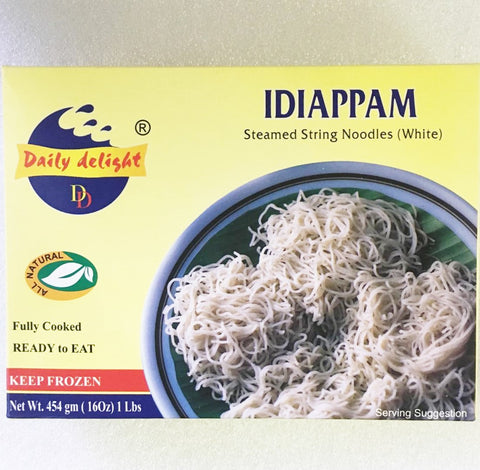 Daily Delight Idiappam White 450 GM Default Title - Sabadda - Indian Online Grocery Store in UK