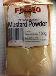 Fudco Mustard Powder 100 GM - Sabadda - Indian Online Grocery Store in UK