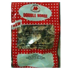 Double Horse Dried Bitter Gourd 100 gm - Sabadda - Indian Online Grocery Store in UK