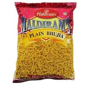 Haldiram's Plain Bhujia 400 gm - Sabadda - Indian Online Grocery Store in UK