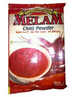 Melam Chilli Powder 500 gm - Sabadda - Indian Online Grocery Store in UK