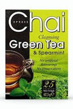 Xpress Chai Cleansing Green Tea and Spearmint 62.5 GM - Sabadda - Indian Online Grocery Store in UK