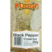 Fudco Black Pepper Coarse 250 gm - Sabadda - Indian Online Grocery Store in UK