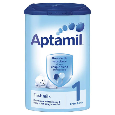 Aptamil First Milk Breastmilk Substitute (1 From birth) 900 gm - Sabadda - Indian Online Grocery Store in UK