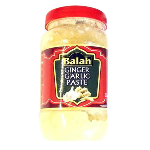 Balah Ginger Garlic Paste 1 kg Default Title - Sabadda - Indian Online Grocery Store in UK