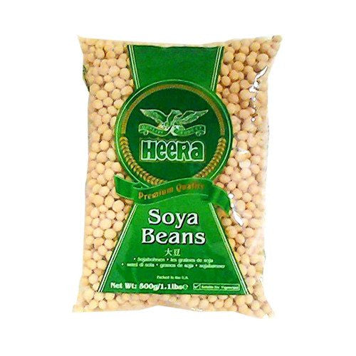 Heera Soya Beans 500 gm - Sabadda - Indian Online Grocery Store in UK