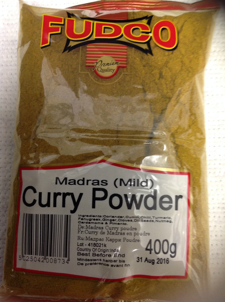 Fudco Madras Mild Curry Powder 400 gm - Sabadda - Indian Online Grocery Store in UK
