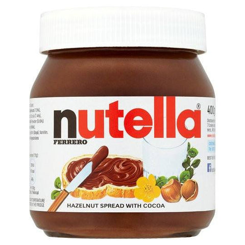 Nutella Hazelnot Spread with Cocoa 400 gm Default Title - Sabadda - Indian Online Grocery Store in UK